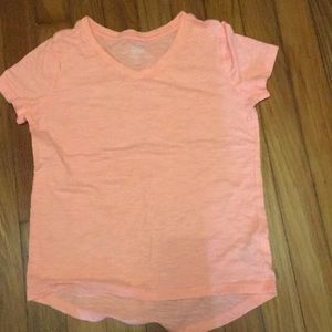 Coral High- Low top for girls